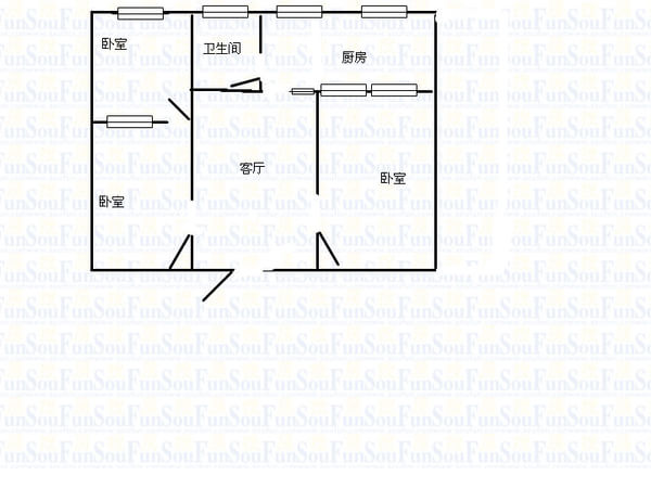 大学宿舍供电电路图