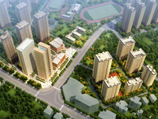 尚源郦城 首付16万户型好 明厨明卫位置好-室外图-363115003