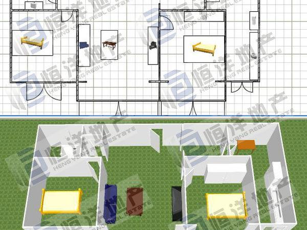 全南长方形房子设计图图片