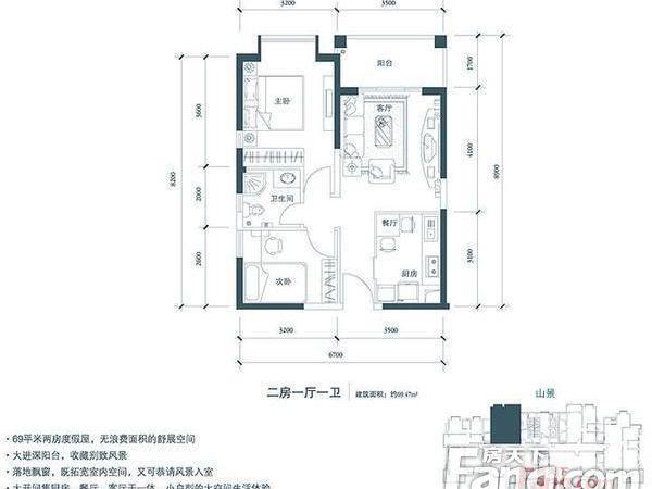 凤凰水城-户型图4