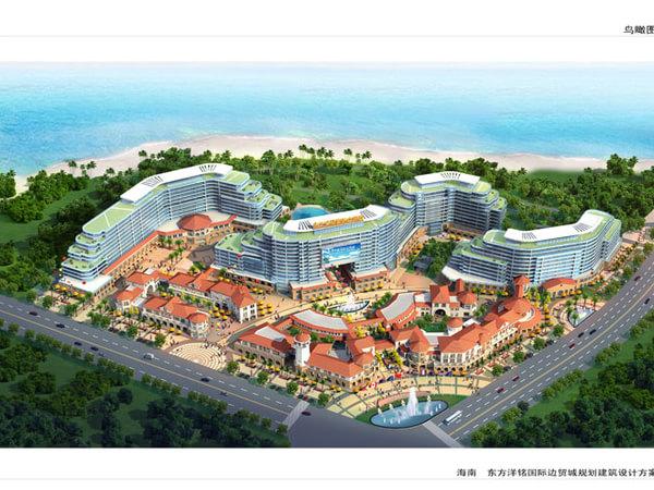 东方洋铭国际边贸城-外观图1
