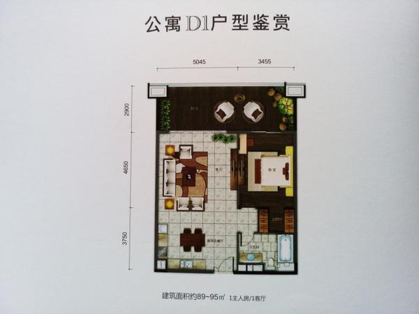 合景汀澜海岸别墅-户型图4