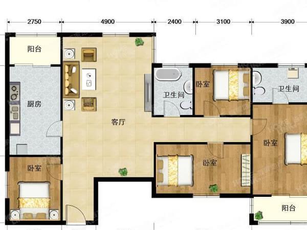 天通苑东一区 塔楼南北向大三居室急售