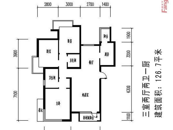浐灞半岛-户型图2