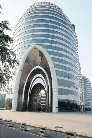 朝阳区 欢乐谷 林达海渔广场写字楼小区 551.00平米 开间