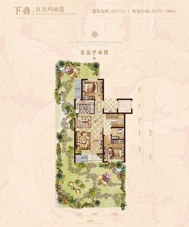 富力半岛花园图纸展示