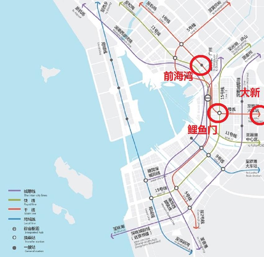 深港机场连接线