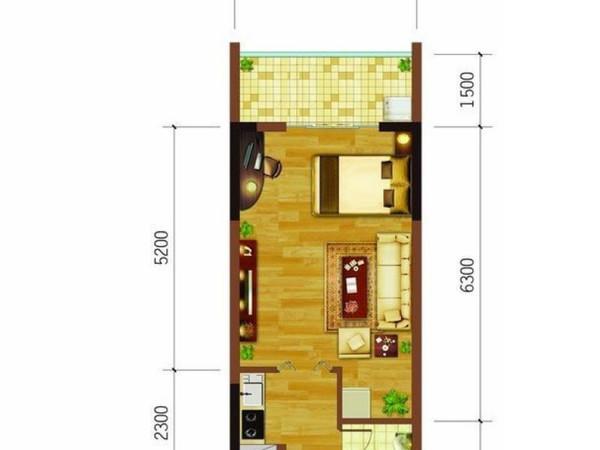 海南老城 世界长寿之乡 小区配套养老医疗系统 养老养生度假-室内图-14