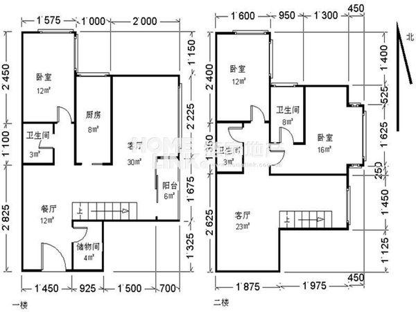 秀水花园-户型图5
