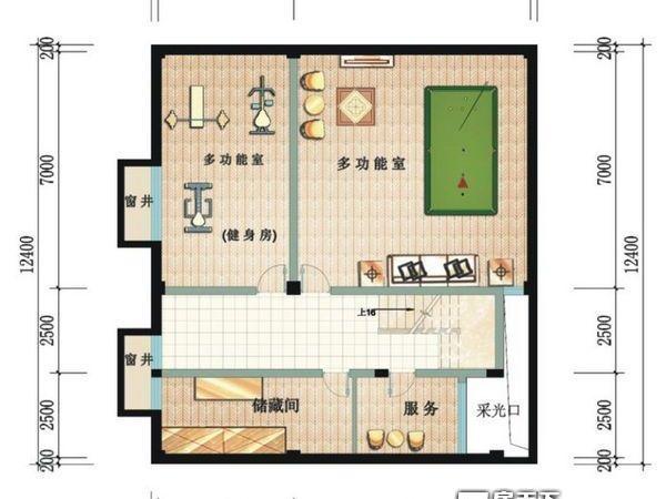 鲁能三亚湾美丽三区别墅-户型图5