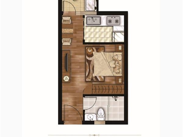 涌鑫哈弗酒店式公寓15万起月租1200即买即 即买即盈利-室内图-6