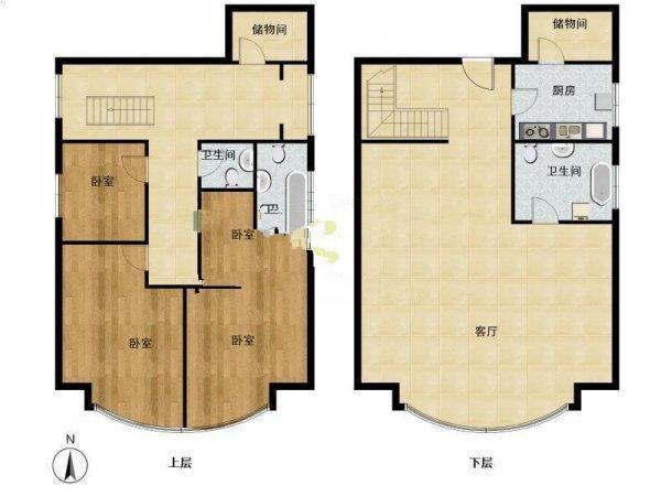4室一厅房子设计图图片