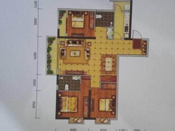 西城时代现铺带返租 有产权 8年回本 能做餐饮-室内图-5