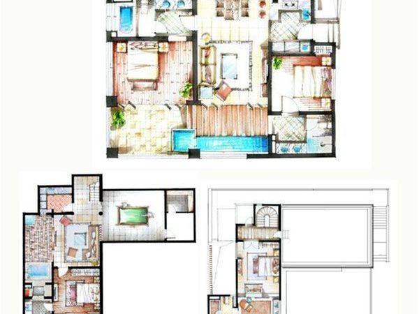 半山半岛二期别墅-户型图2