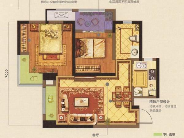 龙湖香醍国际社区-户型图5