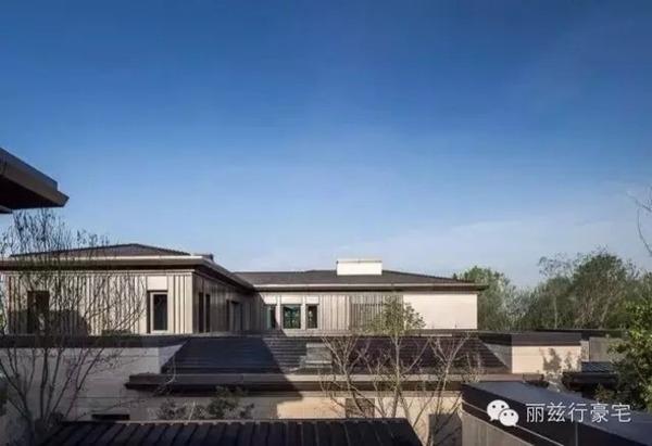 孙河板块 新中式别墅 游泳池 金块奖
