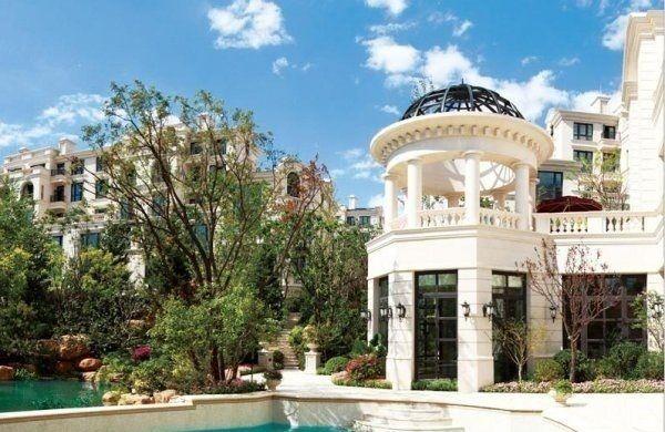 石材外立面 皇家巴洛克设计风格的墅项目