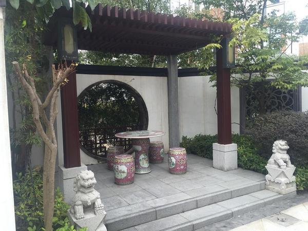 稀缺中式园林 宫廷大院 - 宝安山水江南二手房 - 搜狐