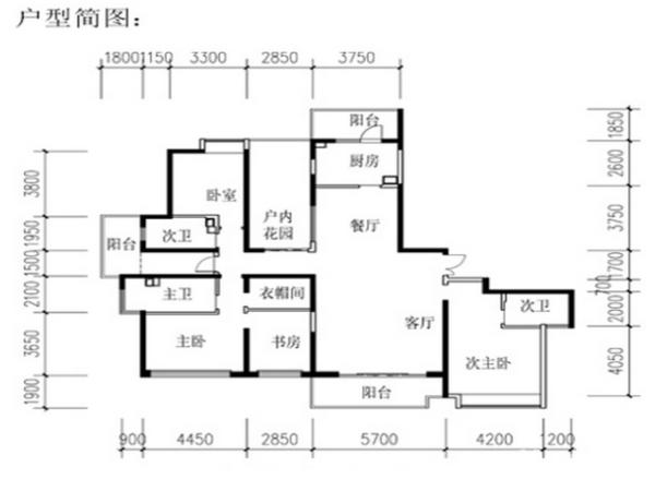 金地湖城大境-户型图2