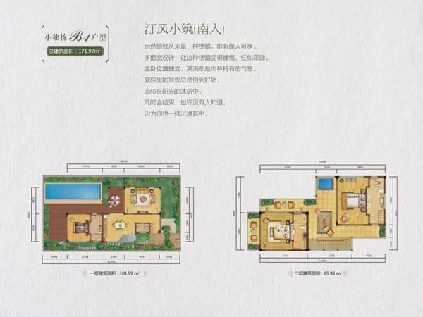 龙湾·雨林谷-户型图7