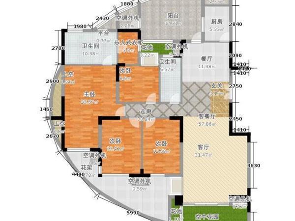 曲江南苑-户型图7