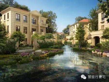 3400亩欧洲独栋庄园 纯独栋别墅