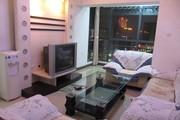 高新区经典双城2室2厅88.09平米精装修带家具家电低价出租