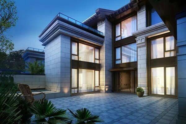 新中式景观独栋别墅