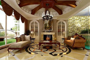 果林溪谷旁世林国际别墅赠送450平米私家花园车库地下室全赠送-室内图-2