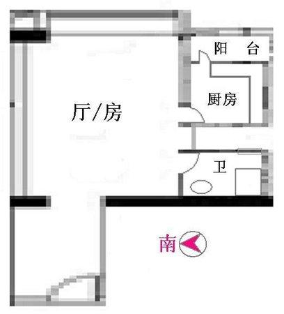 嘉尚国际公寓 大单间-室内图-6