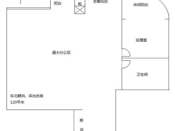 中天国际公寓-户型图6