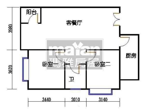 紫薇臻品-户型图4