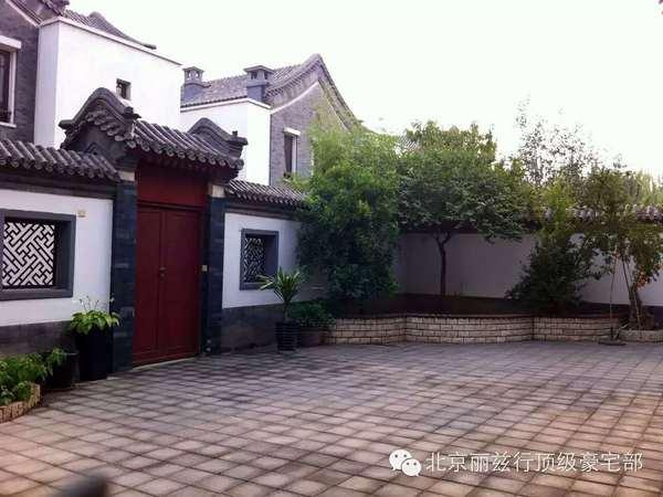 中式观唐别墅+豪华装修+园区中心+北京院子-室外图