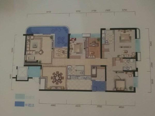 中医院旁地铁超大空间,豪华奢侈的 平层大户型-室内图-6