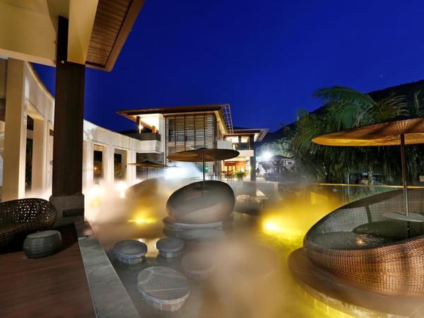 亚龙湾 西山渡 明星相伴下沉式庭院 空中泳池 独栋带车位-室外图-334375033