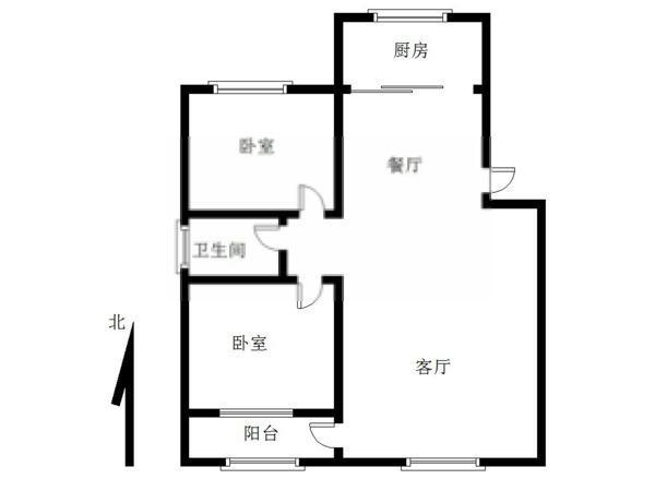 市政府小区-户型图5