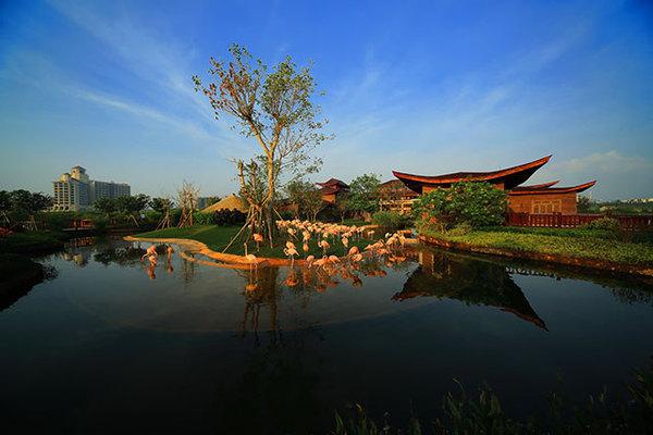 澄迈富力红树湾,精装小洋房享内外双海景观,2200亩湿地公园-室内图-7