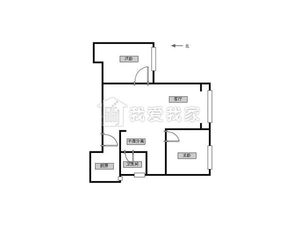 淮兴园 两室一厅 价位合适 随时看房-室内图-6