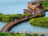 澄迈富力红树湾,精装小洋房享内外双海景观,2200亩湿地公园