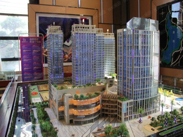 呈贡地段 昆明市政府春融街地铁口购物广场商铺现售-室内图-2