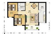 花园伍座 双阳户型 精装双阳两室 拎包入住-室内图-6