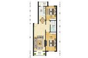 红波公寓 通透H两室户型 采光好 单价低 生活便利-室内图-6
