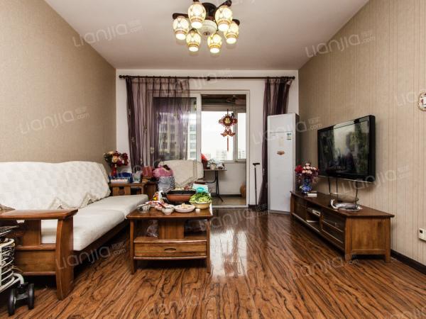 花园伍座 通透户型 精装双阳两室 拎包入住-室内图-1