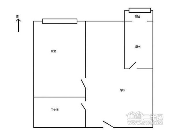 滨河新苑-户型图2