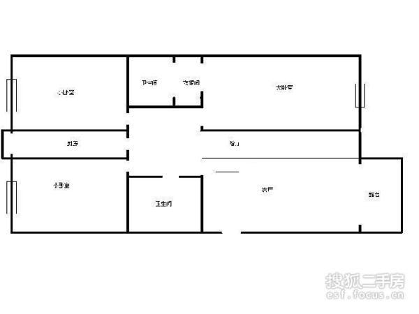 滨河庭苑-户型图4