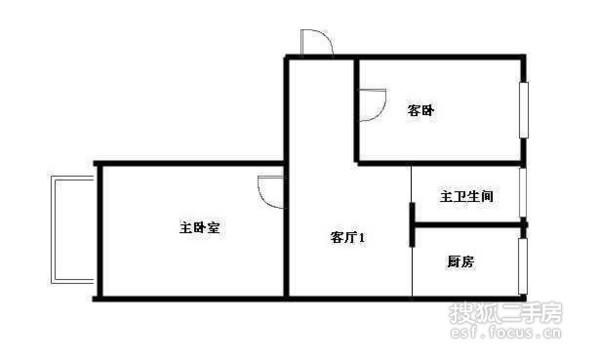 友爱南里-户型图8