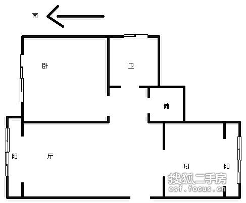 怀安西里-户型图8