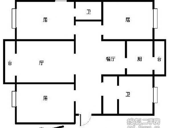 重华西里-户型图6